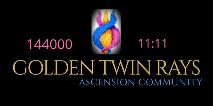 GOLDEN TWIN RAYS TWINFLAME MESSE